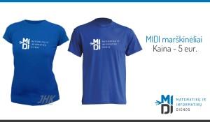 MIDI marškinėliai