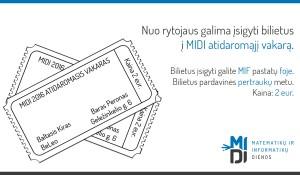 MIDI Bilietai